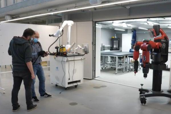 Un laboratoire de recherche à l'Université de Nantes