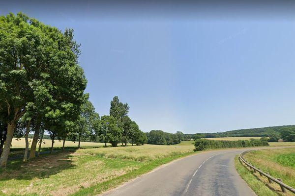A proximité de Saint Mard de Réno, dans l'Orne.