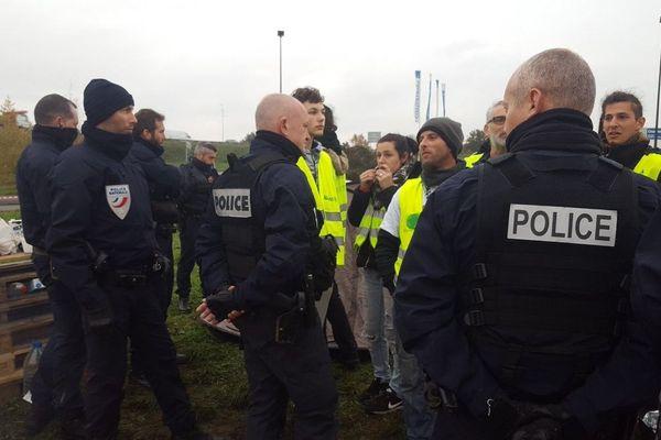Des Gilets jaunes en passe d'être expulsés à Rennes