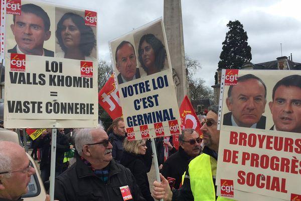 Manifestation au Mans contre la loi travail