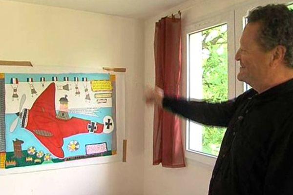 Les dessins d'Yves d'Anglefort sont exposés à Lausanne