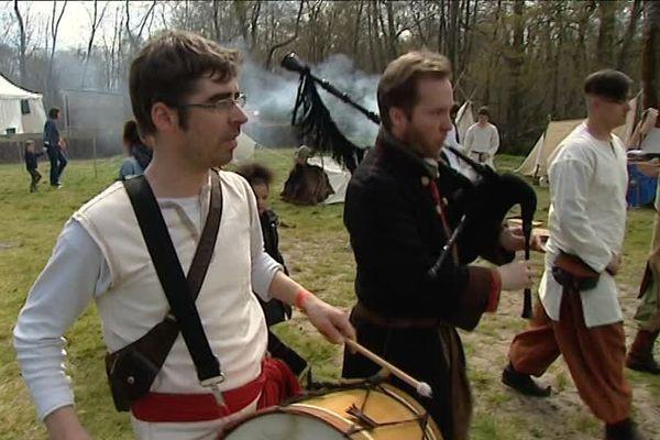 Festival médiéval à Landiras