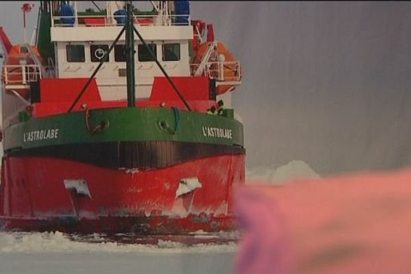 Le pavillon des sciences de Montbéliard propose une exposition sur un voyage scientifique en Antartique