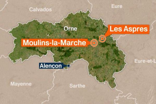 Les pompiers de l'Orne sont intervenus 28 fois samedi et déjà une trentaine de fois dimanche matin.