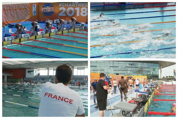 L'Open de France de natation s'était déroulé à l'Odyssée à Chartres en 2017, 2018 et 2019.