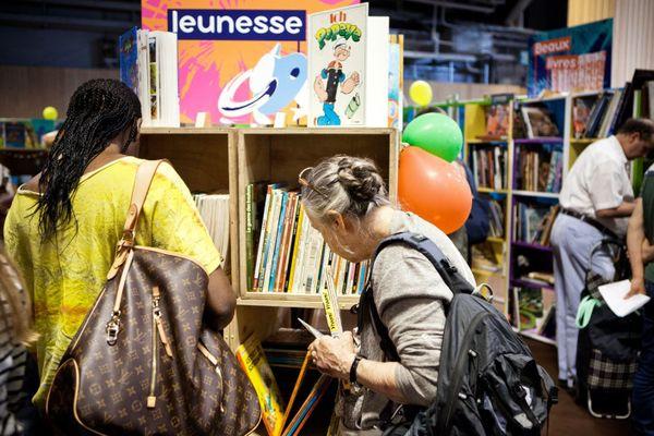 La librairie Emmaüs en 2017