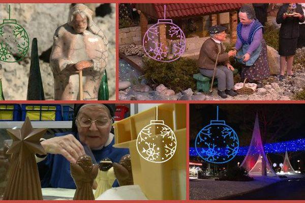 L'esprit de Noël : chocolats, santons, décorations et crèches !
