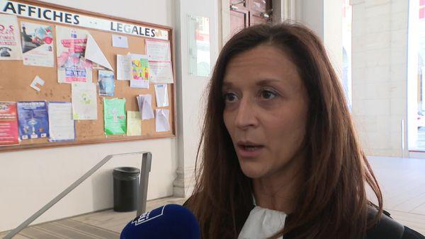 Maître Christelle Abad, avocate d'une famille partie civile