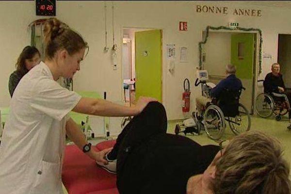 800 personnes sont prises en charge, chaque année, par le centre de médecine physique et de réadaptation d'Amilly (45).