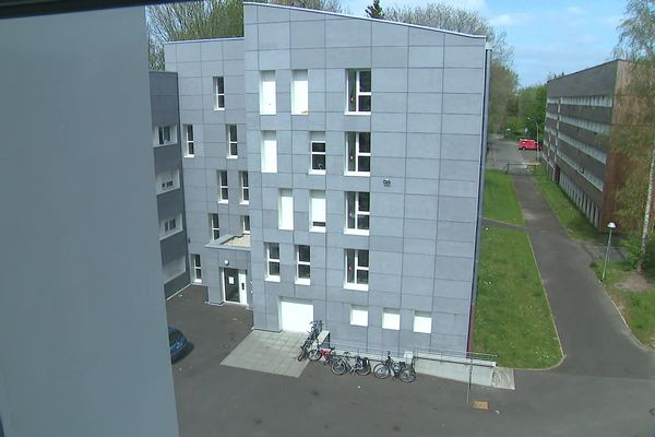 Une résidence universitaire à Villeneuve d'Ascq