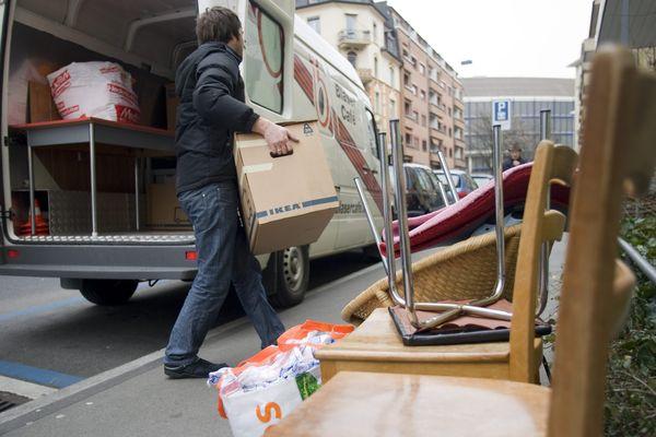 Un site spécialiste du déménagement a analysé les recherches faites sur sa plateforme pour savoir où déménagent les Français. (Illustration)