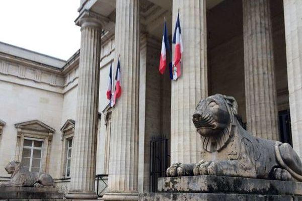 Le tribunal d'Orléans.