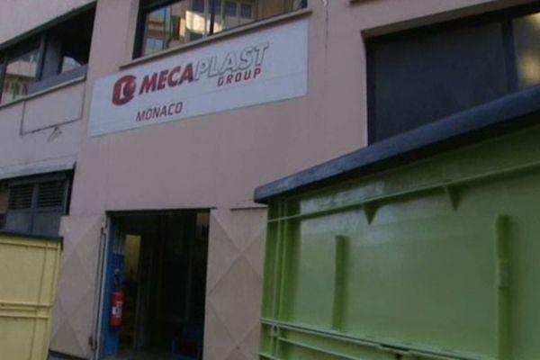 Le siège de la société Mecaplast se trouve à Monaco.