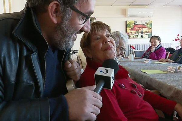 Frédéric Buridant est allé rencontré en ce jour de Saint-Valentin des amoureux en maison de retraite.