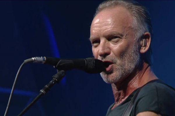 Sting en concert au festival Jazz in Marciac