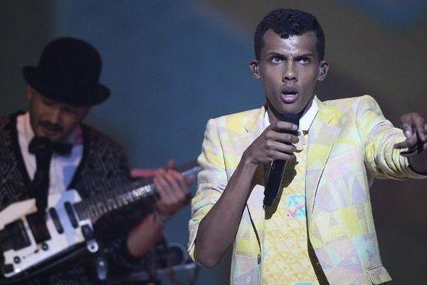 Paul Van Haver, alias Stromae, lors des Victoires de la Musique.