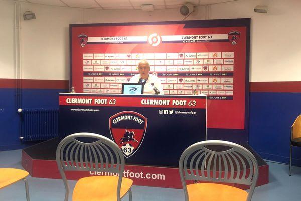 Le coach clermontois, Pascal Gastien, a semblé satisfait du match de ses joueurs.