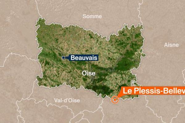 Le Plessis-Belleville (60) est située proche de la Seine-et-Marne (77).