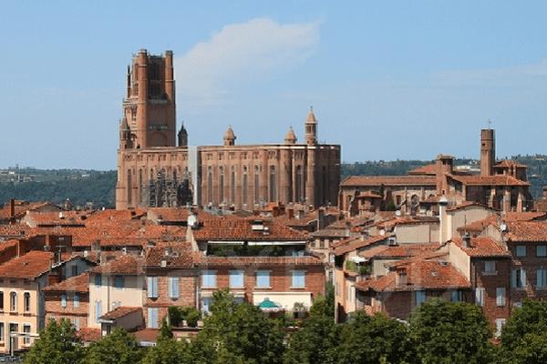 Albi dans le Tarn en Occitanie