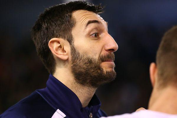 Le Montpelliérain Dragan Gajić - mars 2016