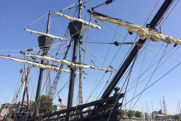 La Nao Victoria fait escale à La Rochelle jusqu'au 5 septembre
