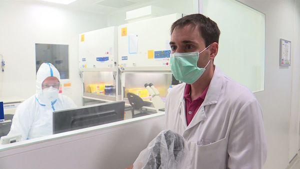Fabien Perugi Responsable du groupe recherche pré-clinique - société Valneva