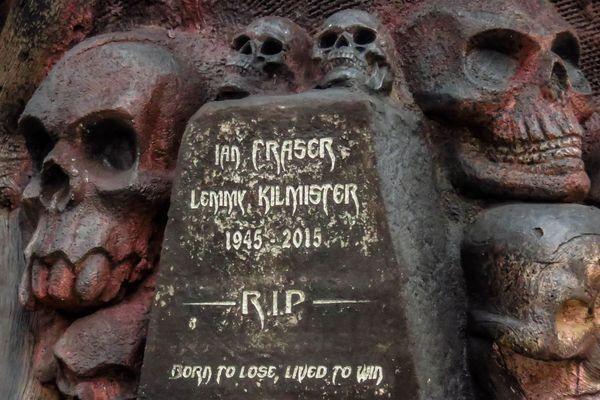 Le mausolée Lemmy a été créé par Jimmix