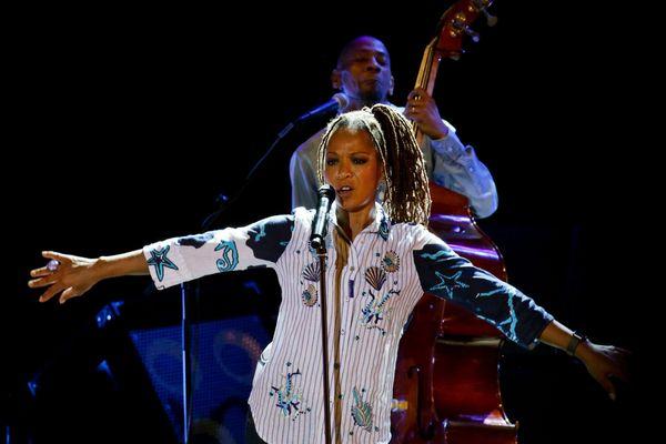 Lisa Simone était la tête d'affiche du Tourcoing Jazz festival, en octobre dernier