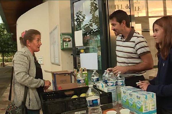 A Villegailhenc les habitants n'ont plus d'eau potable.