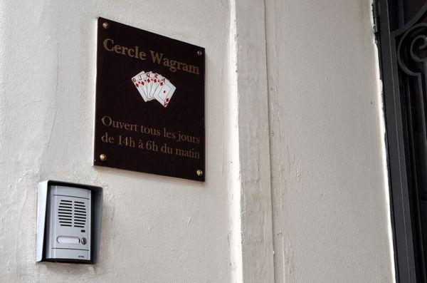 Le Cercle Wagram, à Paris, en 2011
