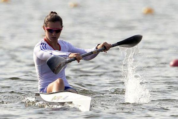 Sarah Guyot remporte l'épreuve du K1 200 m de la coupe du monde de kayak en République tchèque