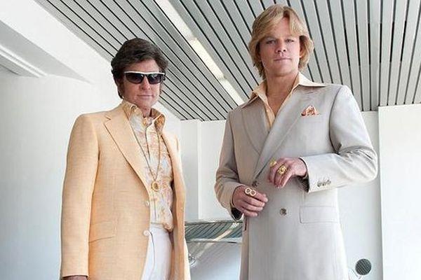 "Michael Douglas et Matt Damon dans le dernier film ""Ma vie avec Liberace"" de Steven Soderbergh"