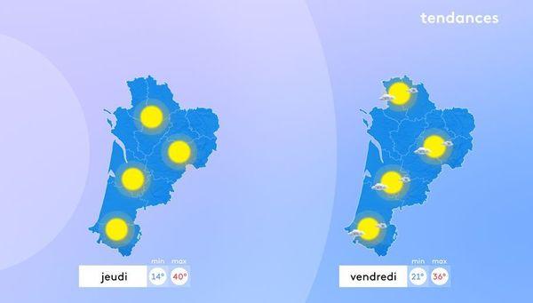 Cette fin de semaine s'annonce comme caniculaire par Météo France et jeudi sera la journée la plus chaude de la semaine.