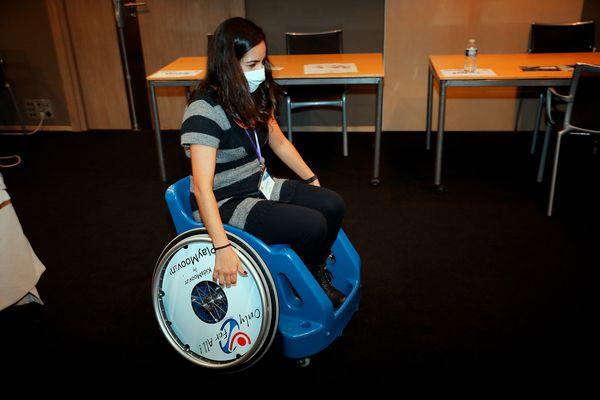 PlayMoovin' a remporté le Handitech Trophy en 2020 avec son fauteuil de sport à destination des enfants.