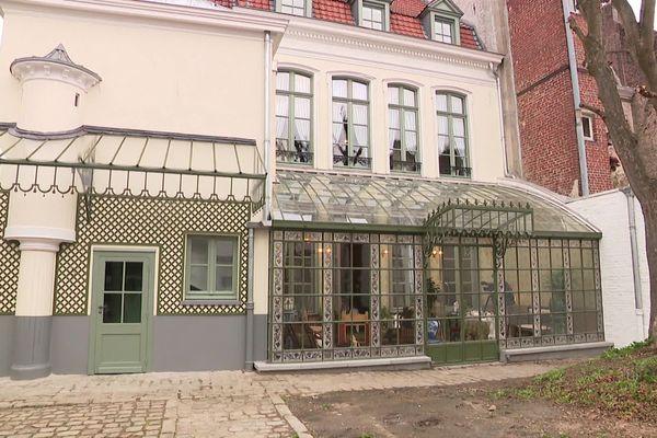 La maison natale de Charles de Gaulle, dont la verrière (entre autres) a été complètement rénovée