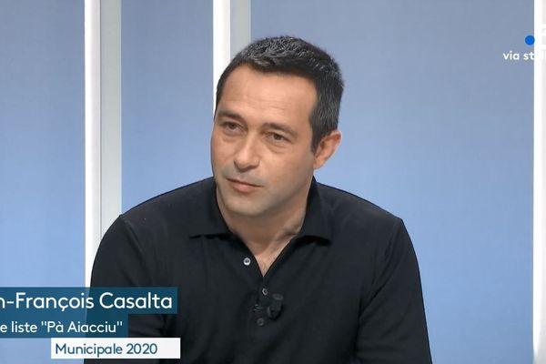 Jean-François Casalta mène la liste ajaccienne qui réunit le PNC et Corsica Libera
