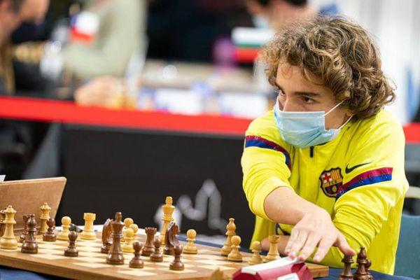 Marc'Andria Maurizzi, plus jeune Grand Maître International d'échecs.
