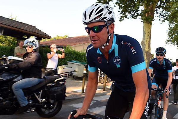 Lance Armstrong à Vénerque