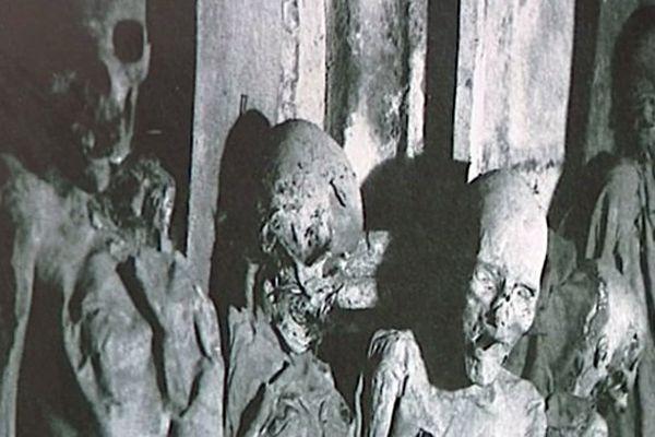 Les momies de Saint-Michel exhumées grâce au documentaire projeté à la crypte de la Flèche Saint-Michel