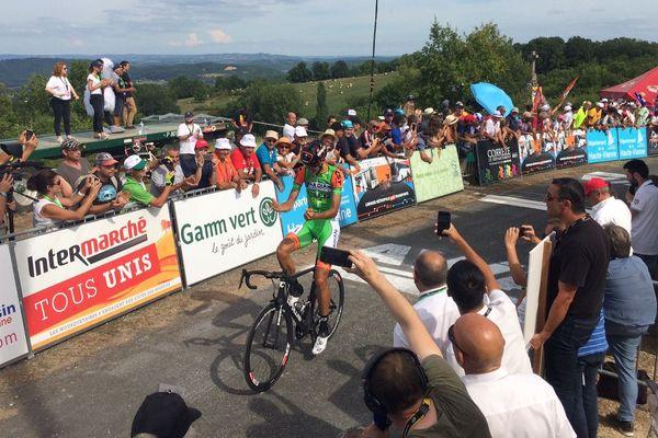 Luca Wackermann remporte la 2e étape du Tour du Limousin après s'être échappé dans les derniers kilomètres.