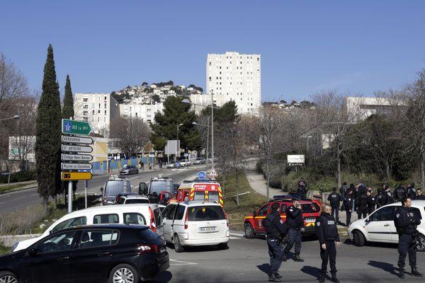 Le commando avait tiré avec des Kalachnikov à la Castellane en marge de la visite de Manuel Valls à Marseille le 9 février 2015.