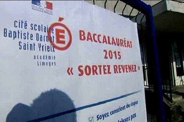 La préfecture de la Haute-Vienne mène cette opération depuis 5 ans le jour des résultats du baccalauréat.