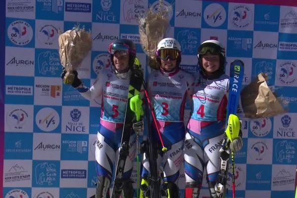 Nastasia Noens sacrée championne de France de slalom