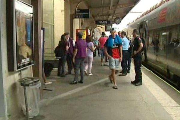 En juillet et août, la fréquentation du train à un euro est multipliée par 3 entre Nîmes et les plages du Grau-du-Roi