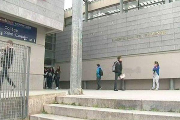 Perpignan - collège Saint-Exupéry - 14 janvier 2013.