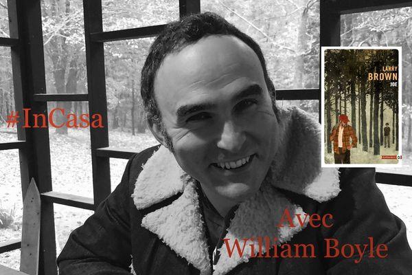 William Boyle, l'un des jeunes auteurs les plus remarquables du roman Noir américain, chroniqueur d'un jour pour France 3 Corse ViaStella