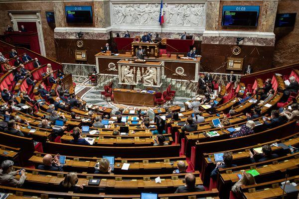 Illustration. L'Assemblée Nationale.
