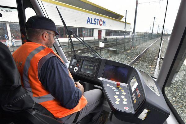 L'usine d'Alstom à Aytré