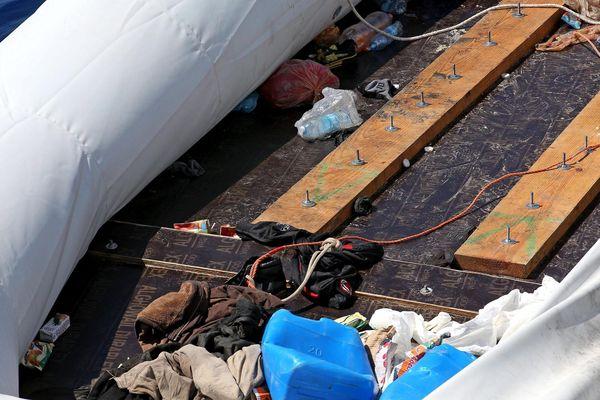 Les migrants traversaient sur un zodiac appartenant à un marin-pêcheur français (image d'illustration)