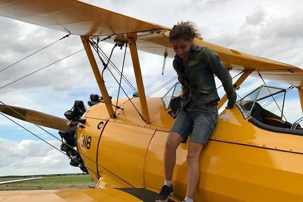 À bord de son avion, Éléanor Sohier a traversé l'Argentine du nord au sud, soit près de 3 000 kilomètres en une semaine.